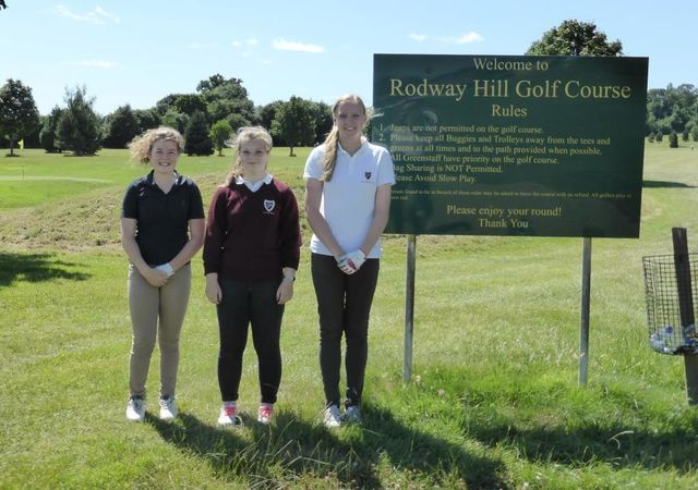 Rodway Hill Competition Day, Issie, Jasmine & Maddy