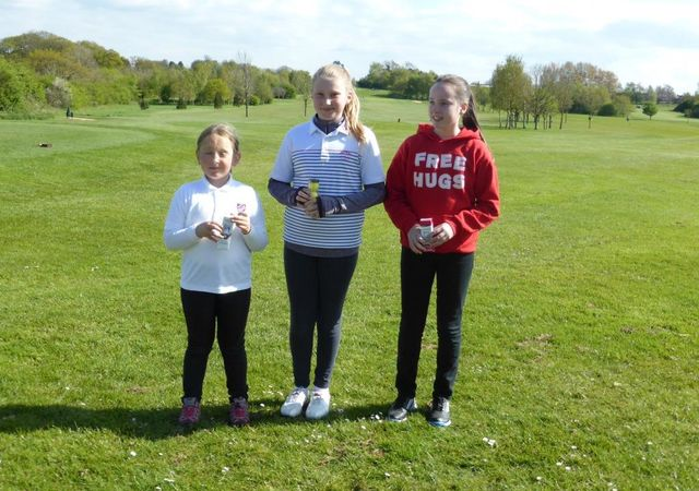 Thornbury Competition Day, Isabella, Chloe & Emily